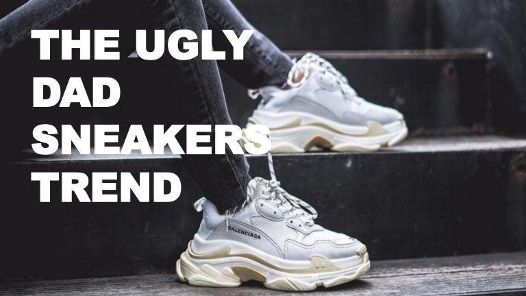 dad sneakers trend