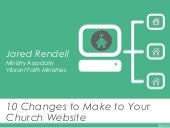 10 Changes to Make to Your Church Website