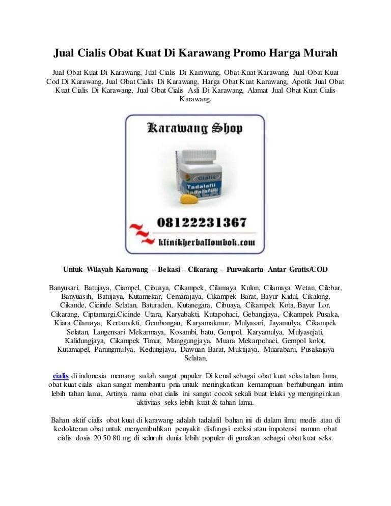 Apotik Jual Cialis Obat Kuat Di Karawang 08122231367