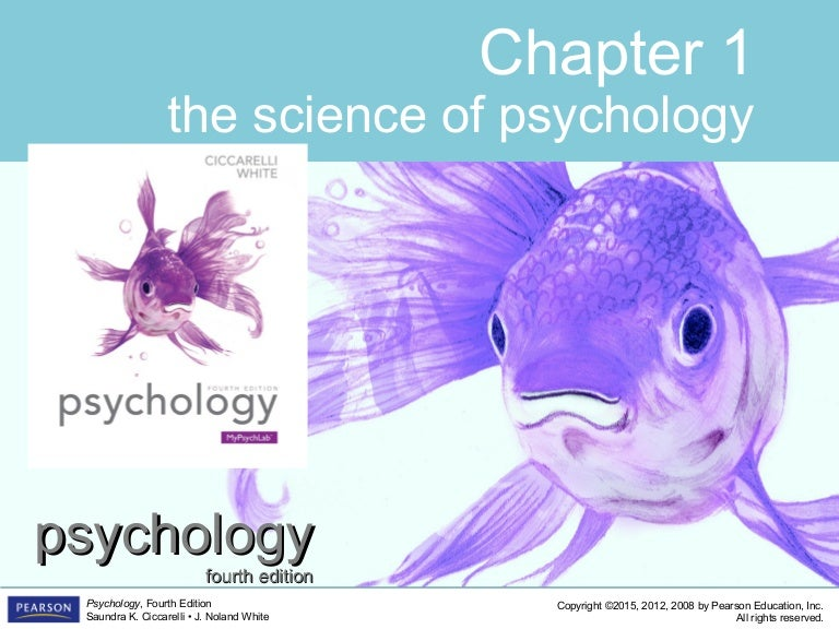 PSYC1101 Chapter 1 4th Edition PowerPoint