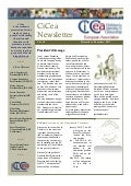 MyUniversity in CiCea Newsletter Vol. 18 – November/ December 2011