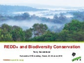 REDD+ and Biodiversity Conservation