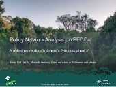 Policy Network Analysis on REDD+