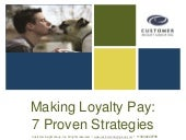 7 Secrets of Loyalty Marketing