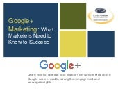 Google+ Marketing: Tactics and Proven Strategies