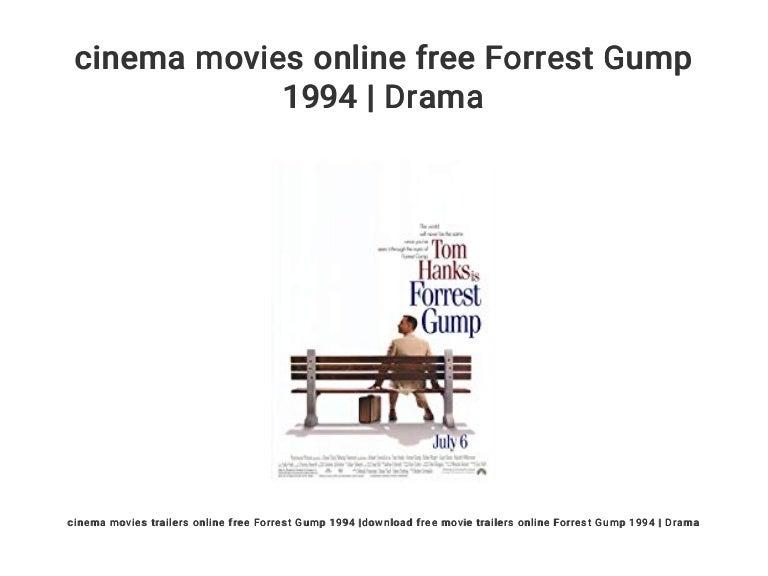Cinema Movies Online Free Forrest Gump 1994 Drama