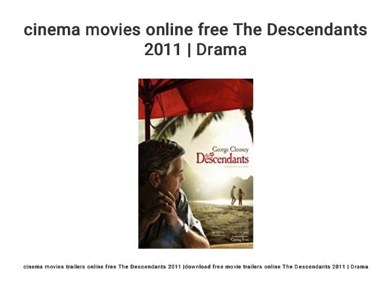 Cinema Movies Online Free The Descendants 2011 Drama