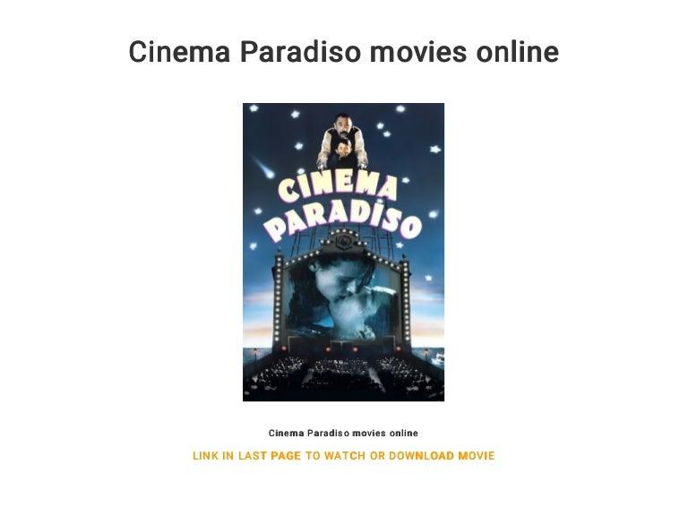 Cinema Paradiso Online