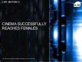 Cinema Successfully Reaches Females