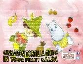Cinnamon tortilla chips in your fruit salsa