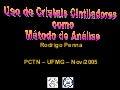 Uso de Cintiladores como Método de Análise - Conteúdo vinculado ao blog      http://fisicanoenem.blogspot.com/