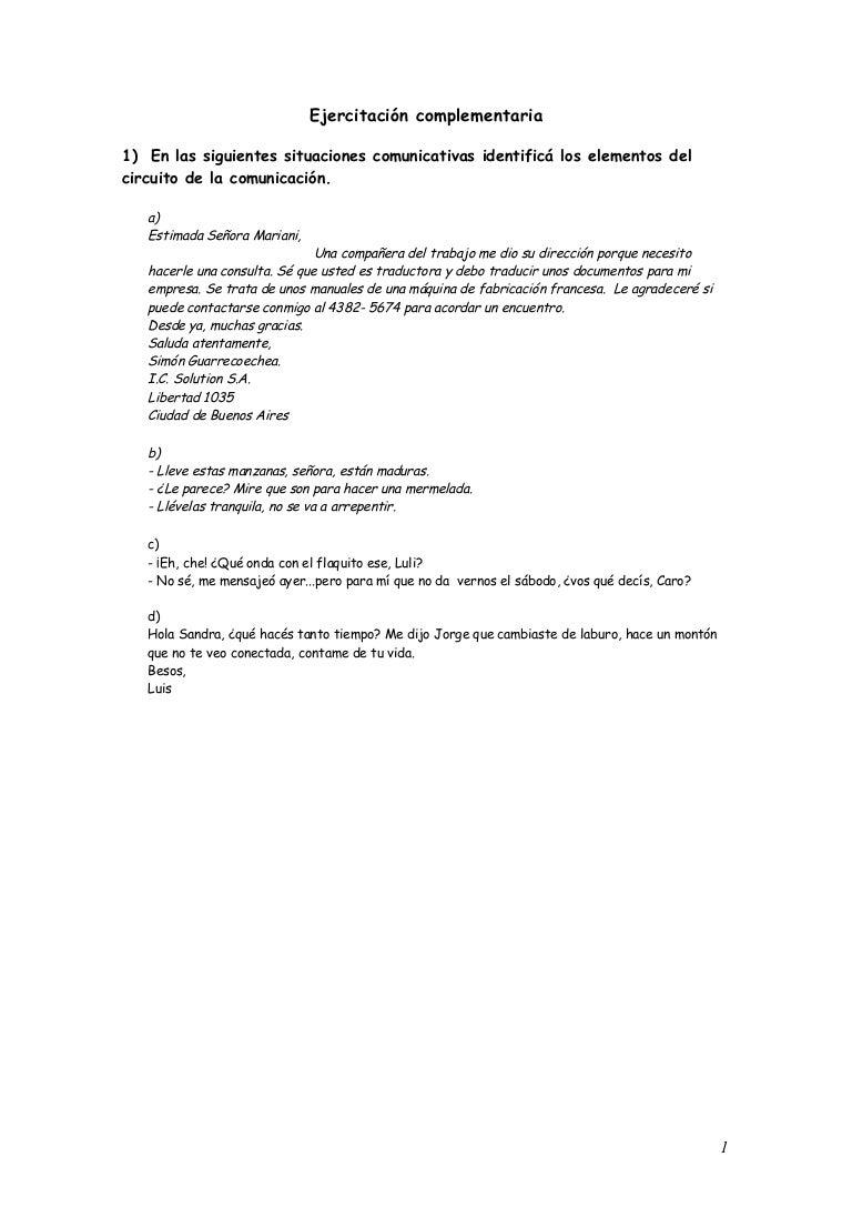 Circuito Comunicativo : Circuito de la comunicación registro variedades de lengua y funcionu2026