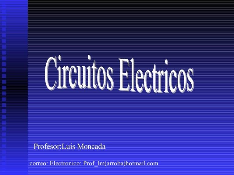 Circuito Electrico Simple Diagrama : Circuitos electricos