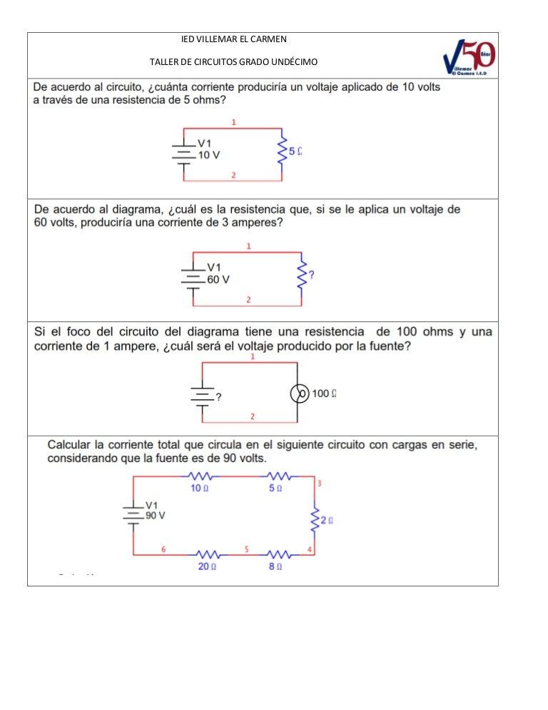 Circuito Rlc Serie Y Paralelo : Circuitos serie y paralelo ejercicios