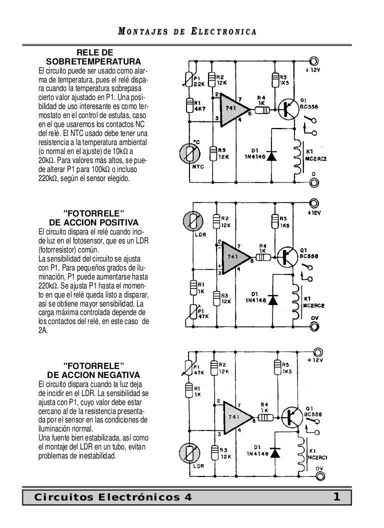 Circuito Ldr : Circuitos electronicos