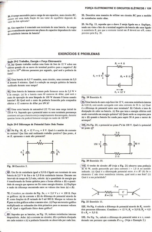 Circuito Eletricos : Circuitos eletricos halliday e resnick