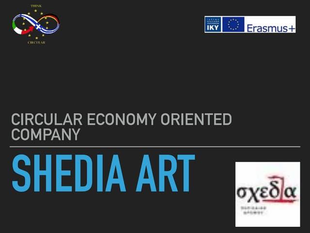 Circular economy company   greece shedia art