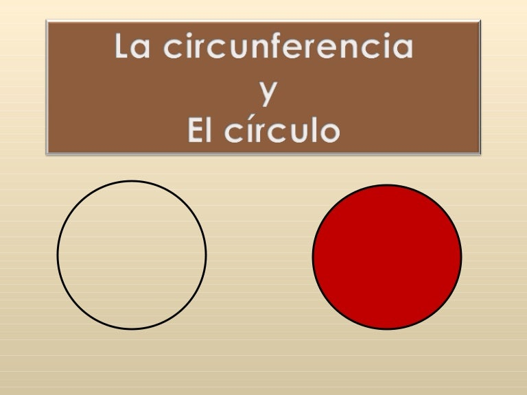 Resultado de imagen de CIRCUNFERENCIA Y CÍRCULO