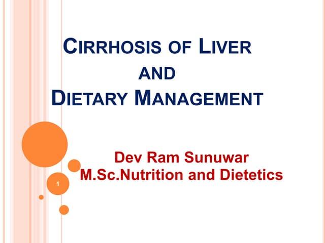 Cirrhosis of liver. final pptx