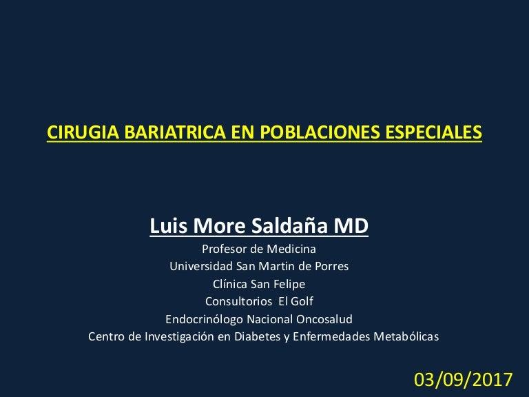 cirugía bariátrica y diabetes ppt