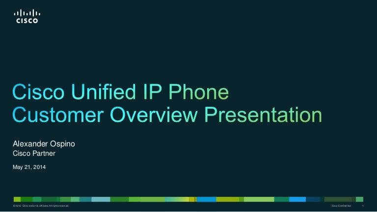 Cisco ip-phone-customer-pres-bdm