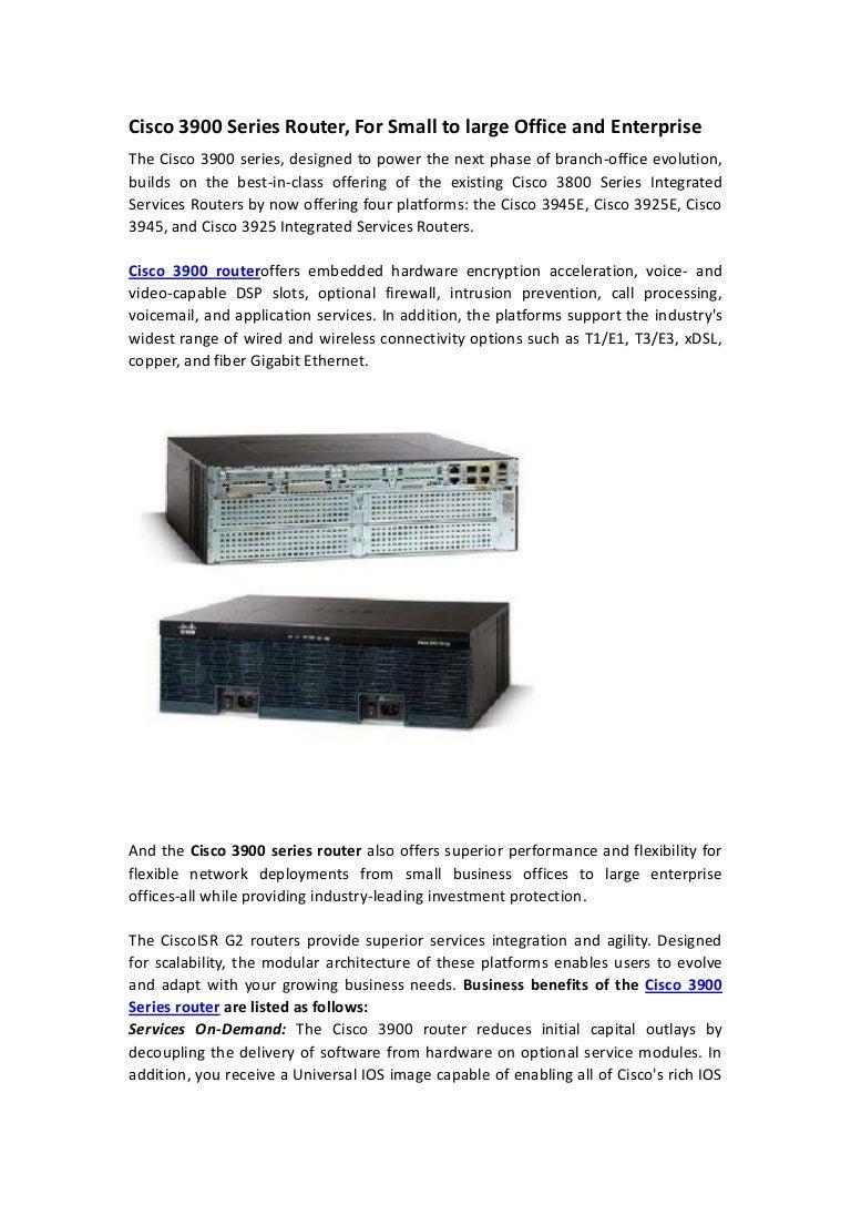 Cisco 3925, cisco 3945, hot required models of cisco 3900 series