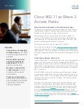 Cisco 802.11ac Wave 2 Access Points At-A-Glance