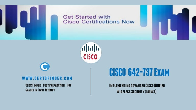 Cisco Ccnp 642 737 Exam Wireless Certification Assessment Test