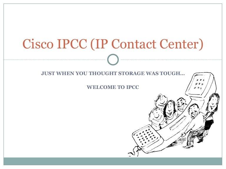 Introduction to cisco ipcc enterprise.