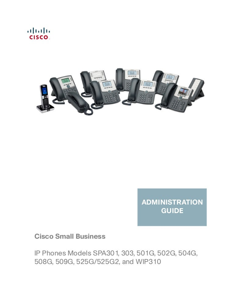 Cisco spa508 administration guide
