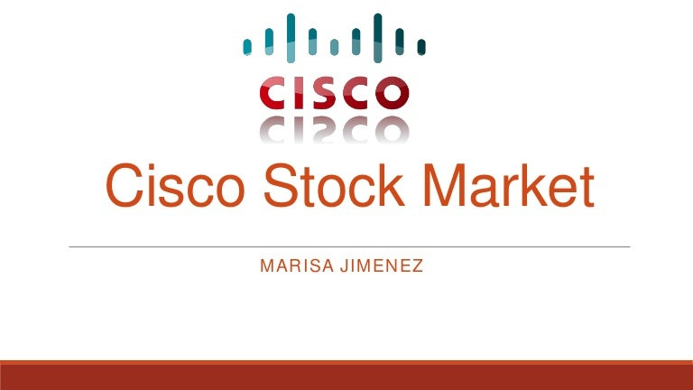 Cisco Stock Market