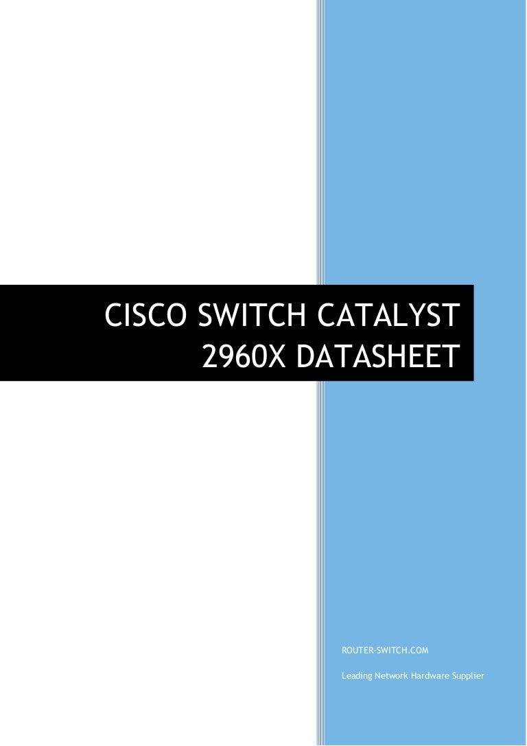 2960x datasheet