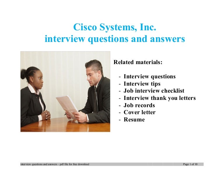 Ccna interview questions and answers for freshers pdf free download.