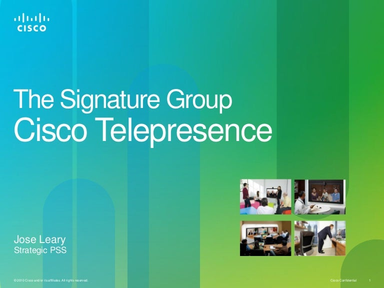 cisco video presentation stn 2 24 11, Modern powerpoint