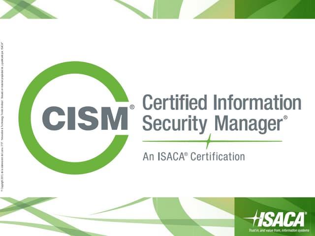 CISM online review course Spanish / Español (Intro)