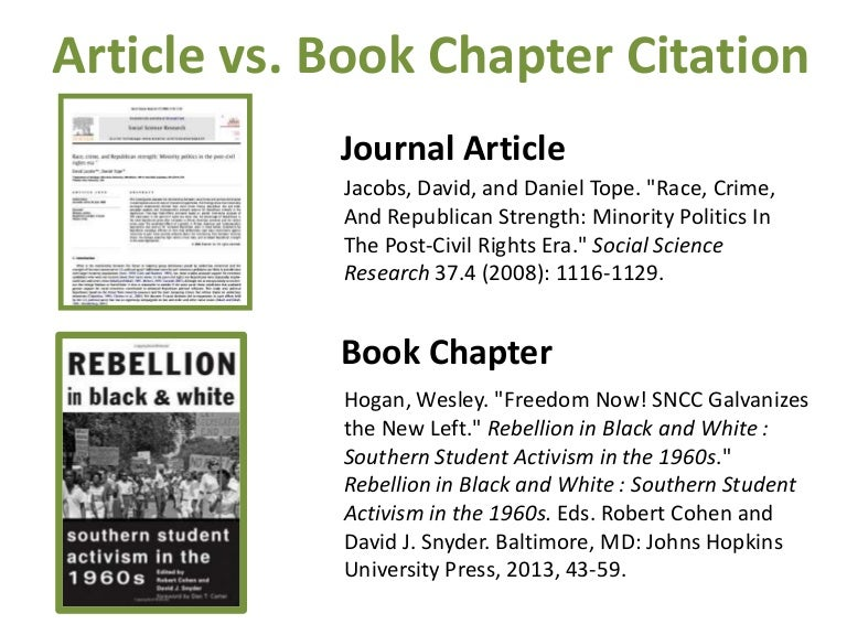 Difference Between Article And Journal