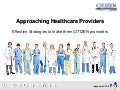 CITIZEN Online Training - Approaching healthcare providers