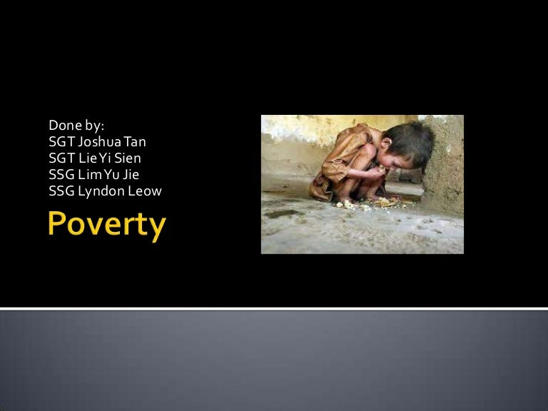 effects of poverty essay