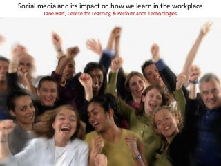 The impact of social media on workplace learnng