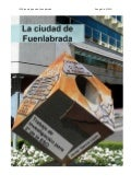 Ciudad de Fuenlabrada. Javier Garcia. Trabajo de investigación.
