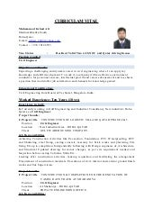 CV Site Engineer Civil