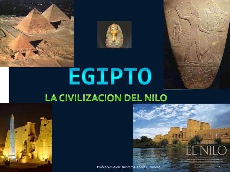 Civilizaciones Antiguas Egipto