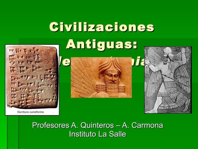 Civilizaciones antiguas mesopo