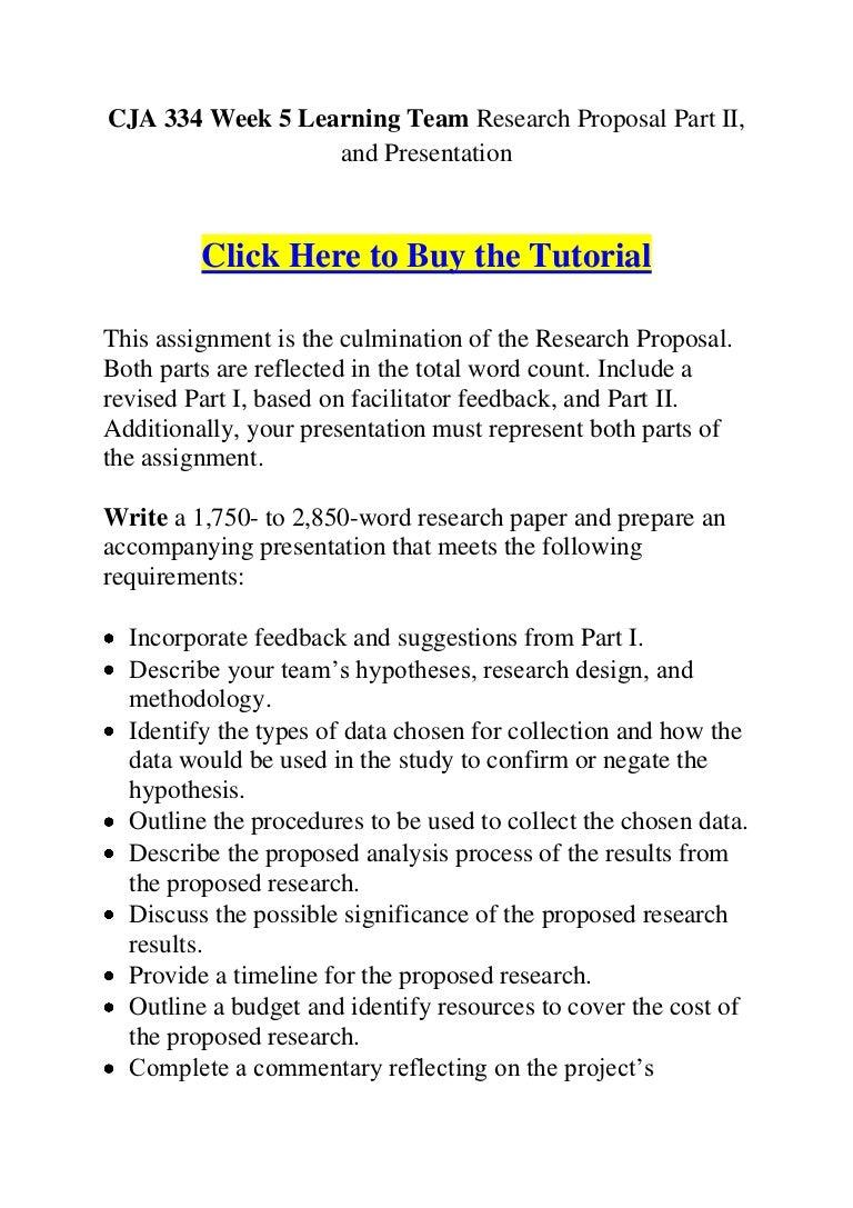 research proposal part 1 cja 334