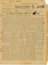 Commercio da Louzã n.º 15 – 16.07.1909