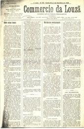 Commercio da Louzã n.º 30 – 02.12.1909