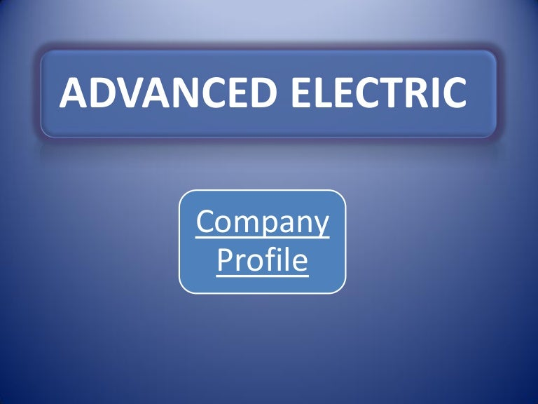 Advanced Electric Company, Delhi, Electrical Products