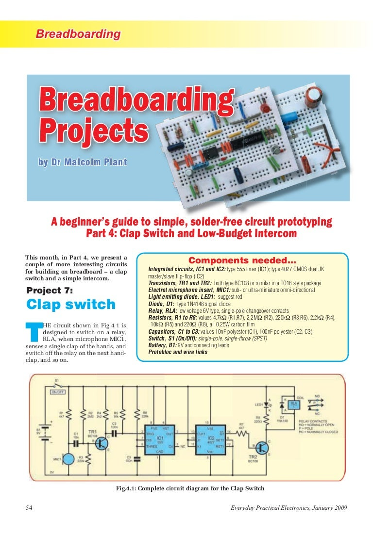 Clap Switch Circuit Diagram Using Breadboard Clapswitch 140326032134 Phpapp01 Thumbnail 4cb1395804178