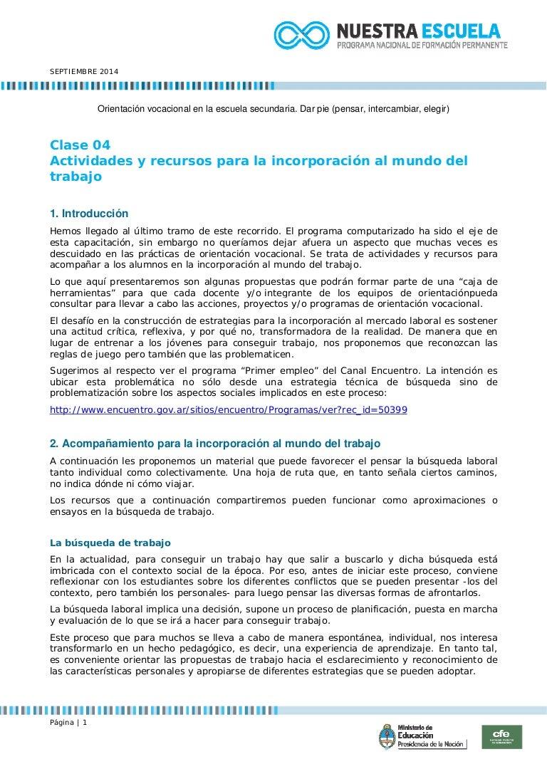 Clase 03 Curriculum Vitae