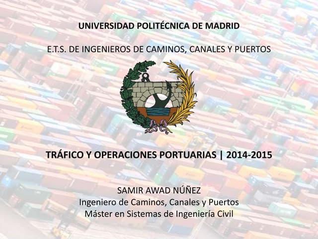 La estrategia logística de España (Clase 12-2-15)